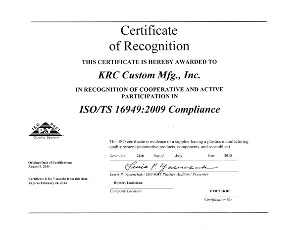 how to become iso compliant